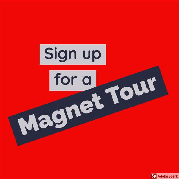 Magnet Tour Online Sign-Up